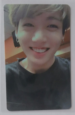 BTS JUNGKOOK Photocard WORLD TOUR  LOVE YOURSELF NEW YORK DVD Official Goods FC