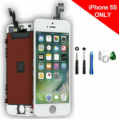 LCD Display for iPhone 5S White Full Touch Screen Replacement Digitizer Assembly