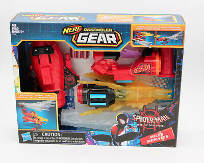 Nerf Assembler Gear Spider-Man Into The SpiderVerse Miles Morales Brand New!!
