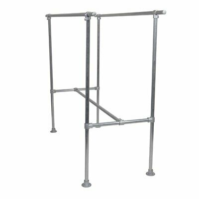 Commercial Grade Industrial Double Clothes Rack Galvanised  Heavy duty
