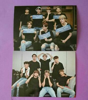 BTS ALL MEMBERS Photocard WORLD TOUR  LOVE YOURSELF NEW YORK EUROPE DVD Set 2