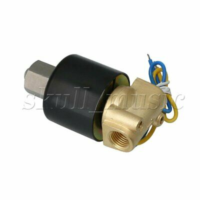 """Brass Solenoid electric solenoid Normally Open Type Actuator DC 12 V 1/4"""" N/O"""