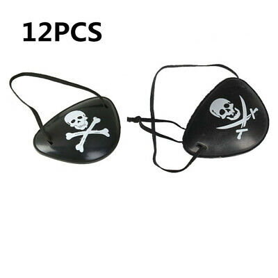 12pcs Patch Funny Creative Hallowmas Eye Patch for Festival Performance Cosplay