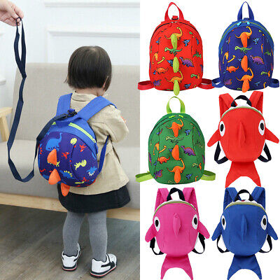 AU Kids Safety Harness Leash Anti Lost Backpack Strap Bag For Walking Toddler