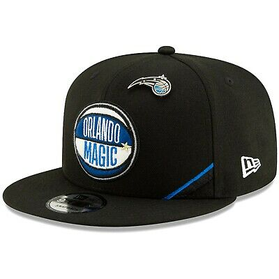 new concept 50b08 5470e Orlando Magic New Era 2019 NBA Draft 9FIFTY Snapback Adjustable Hat - Black