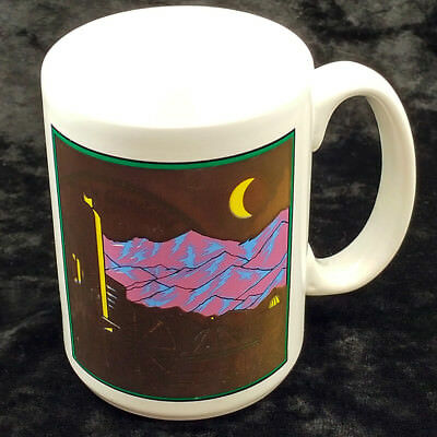 Elitch Gardens Amusement Park 1995 Magical Mystery Mug Promotional Coffee Cup