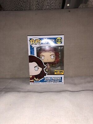FUNKO POP DARK PHOENIX #413 Marvel X-Men NEW Hot Topic EXCLUSIVE Jean Grey