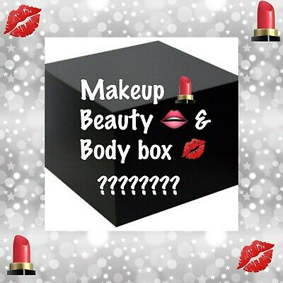 Makeup Box with Beauty & Body Products. Everything 100% Authentic and Sealed!