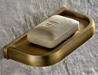 Antique Brass Wall Mounted Soap Dish Holder Soap Bathroom Accessories Bba175