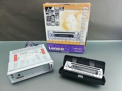 Original Lenco CS 174 Autoradio CD/USB-Receiver MP3-Wiedergabe RDS  4 x 40W max