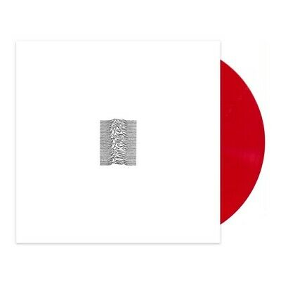 Joy Division - Unknown Pleasures (40th Anniversary) // Vinyl LP limited on Red