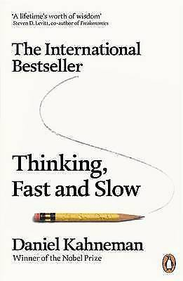 Thinking, Fast and Slow by Daniel Kahneman,  PAPERBACK