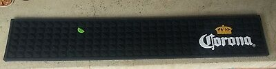 CORONA RUBBER BAR RUNNER MAT ALFOMBRILLA BARRA GOMA 60x10 BRAND NEW