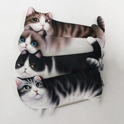 Delicate Cute Cat Fluffy Toy Novelty Lovely Pencil Case Makeup Pouch Coins Bag
