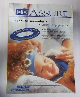 BD Assure - Ear Thermometer - Digital LCD Display - Easy to Use - BRAND NEW