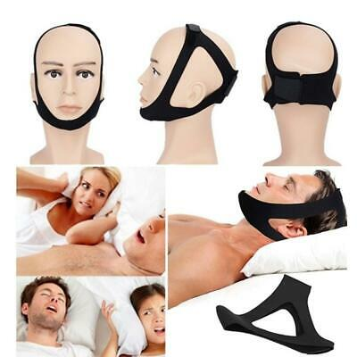 Unisex Anti Snore Chin Strap Night Stop Snore Belt Sleeping Aid Tools OK 04