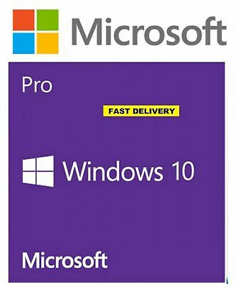 LICENCE KEY to Upgrade Microsoft Windows 10 Home to Windows 10 Pro 32/64 INSTANT