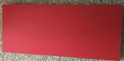15 Dark Red Mount Board Mountboard Bevel Cut 15Cm X 35Cm For Art Project Crafts