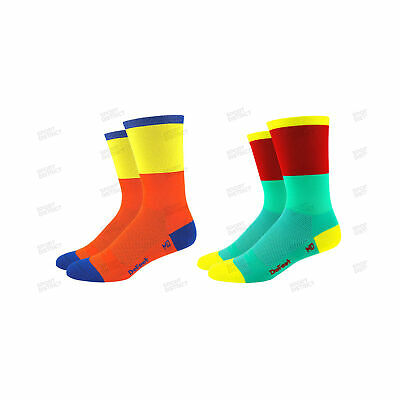 Calze Defeet Aireator 6 Blockhead Socks Estive Summer Bici Bike Ciclismo Cycling