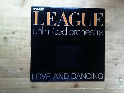 The League Unlimited Orchestra Love & Dancing Excellent Vinyl Record OVED6