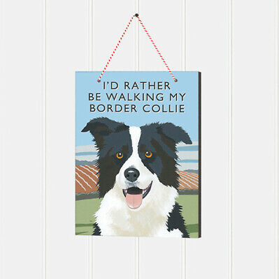 Border Collie Wooden Sign Plaque Gift/Present Dog