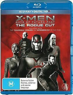X-Men Days Of Future Past The Rogue Cut Blu Ray Like new (C)