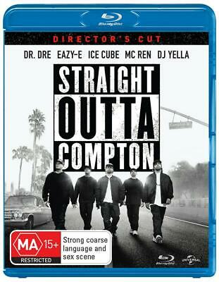 Straight Outta Compton Blu Ray Like new