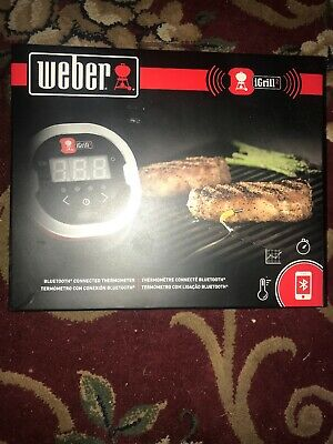 Weber 7203 iGrill 2 Bluetooth Connected Thermometer
