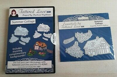 Tattered Lace Charisma Summer Cottage CD Rom and Cutting dies ETL286