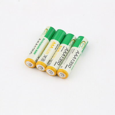 4pcs BTY 1.2V AAA 3A 1350mAh Ni-MH Rechargeable Battery for RC Toys Camera FG@#