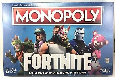 Monopoly: Fortnite Edition Survive Battle Royal Board Game Inspired by Fortnite