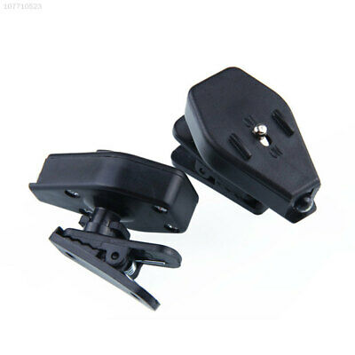 2888 Mini Clip-on Grip Clamp LED Light Rotate For Reading Glasses Portable Brigh
