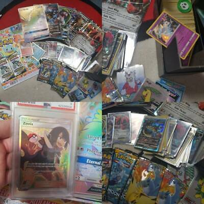 Pokemon cards mixed bundle new booster packs psa lot