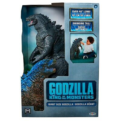 "New Jakks King Of The Monsters Giant Size 24"" Godzilla Action Figure Collectible"