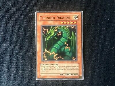 Yugioh Thunder Dragon MRD-097 Common 1st Edition Moderately played MP