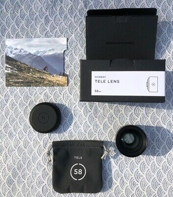 Moment Lens TELE 58mm (V2) - boxed!