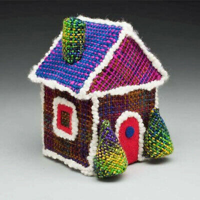 Gingerbread Cottage Swatch Critter Kit For Schacht Zoom Loom, Holiday Series