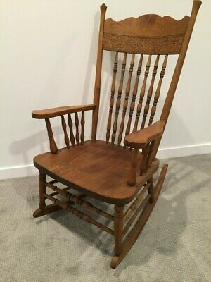 Rocking Chair - Solid Maple - Vintage - Excellent Condition - $25