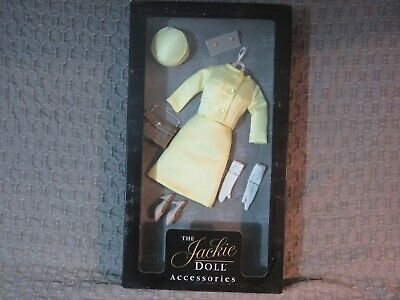 Franklin Mint The Jackie Doll Clothes Accessories Yellow Set  Pillbox Hat New