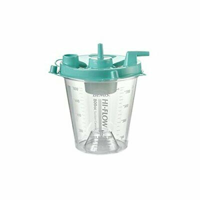 Bemis Healthcare 8002 055 Hi-Flow Canister, Critical Measure Btm, 800 cc (PK/70)