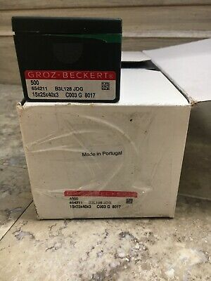 groz beckert needle 4000 Ct 654211 B3L128 JDG