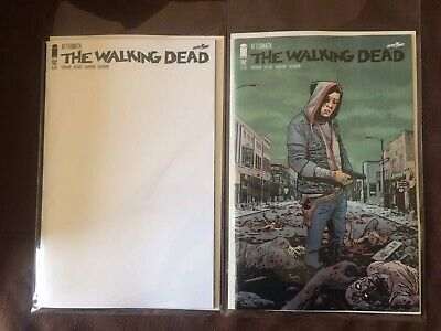 The Walking Dead 192 MINT Regular Cover and Blank Cover 1st Prints