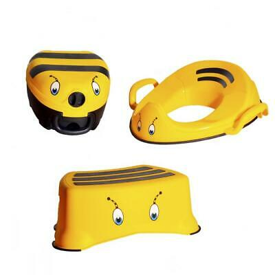 My Carry Potty Toddler Toilet Training Range Potty Step Stool Trainer Seat - BEE
