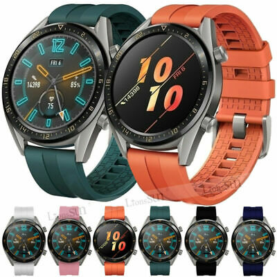 Huawei Watch GT Active Elegant Silicone Soft Watch Band Wristband Strap 22mm