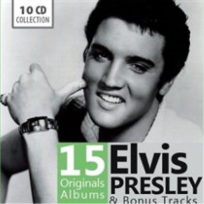 Elvis Presley-15 Original Albums CD / Box Set NEU
