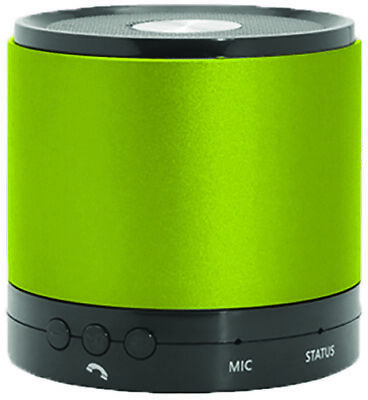 Hottips Portable Bluetooth Speaker - Green - CASE OF 4