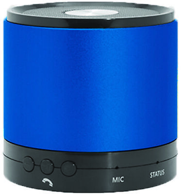 Hottips Portable Bluetooth Speaker - Blue - CASE OF 4