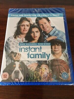 INSTANT FAMILY Blu-Ray - Mark Wahlberg, Rose Byrne, Sean Anders (Daddy's Home)