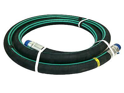 "1-1/4"" X 10' NH3 Nylon Braid Pre-coupled Hose Assembly - Parker 7262"