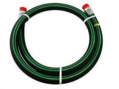 "1-1/2"" X 12' NH3 Nylon Braid Pre-coupled Hose Assembly - Parker 7262"